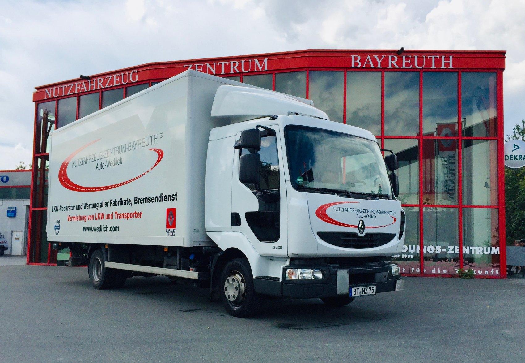 LKW mieten beim Nutzfahrzeug-Zentrum-Bayreuth